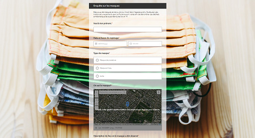 Collect and present data on a topic around your school with ArcGIS