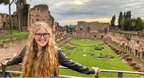 EYS runner-up Christine Davidson studies ancient landscapes using GIS