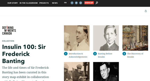 App of the Month: Insulin 100: Sir Frederick Banting