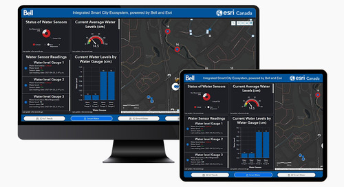 Introducing the Integrated Smart City Ecosystem, powered by Bell and Esri