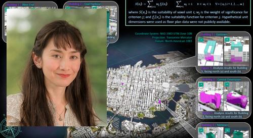 Kendra Munn: Esri Young Scholar turned Urban Solutions Specialist
