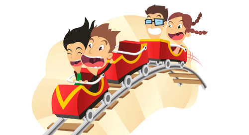 What did the dentist say to his friend on a roller coaster?