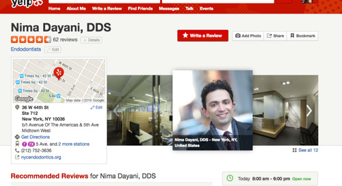 Would You Sue a Patient Over a Negative Yelp Review?