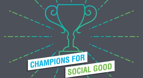 Innovation & Social Change:  A Conversation with Rachel Hutchisson of Blackbaud & Paul Klein of Impakt