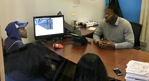 Giving Back: An Afternoon of Job Shadowing