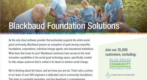 Community Foundation Solutions