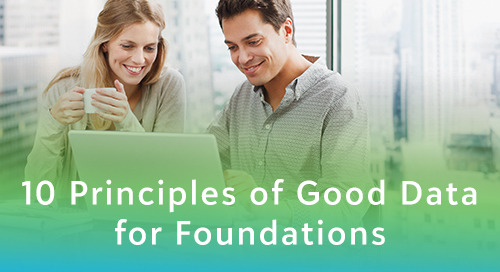 10 Principles of Good Data for Foundations