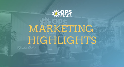The Best of Ops-Stars 2018: Marketing Highlights