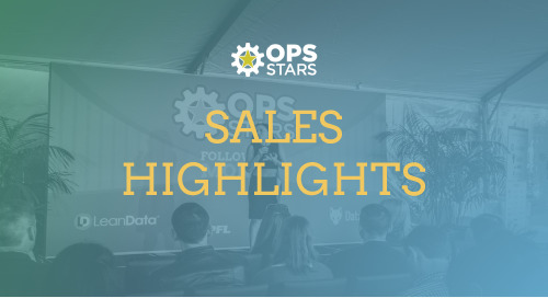 The Best of Ops-Stars 2018: Sales Highlights