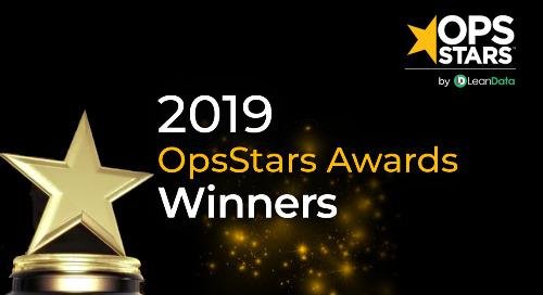 LeanData Unveils 2019 OpsStars Award Winners