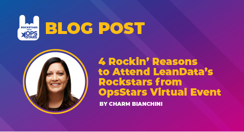 4 Rockin' Reasons to Attend LeanData's Rockstars from OpsStars Virtual Event