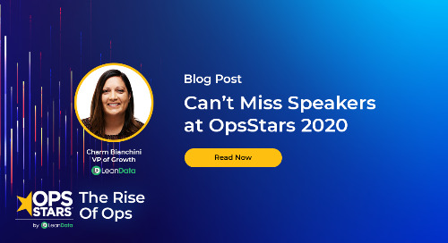 Blog: Can't Miss Speakers at OpsStars 2020