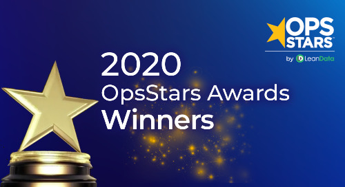 LeanData Announces Winners of the 2020 OpsStars Awards
