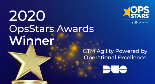 GTM Agility Powered by Operational Excellence