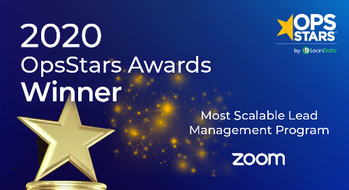Most Scalable Lead Management Program of the Year