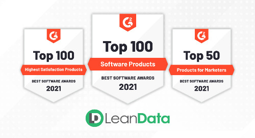 LeanData Named One of G2's Best Software Products of 2021