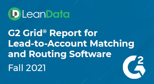 G2 Grid® Report for Lead-to-Account Matching and Routing Software