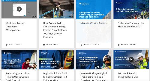 Autodesk Build Resource Hub
