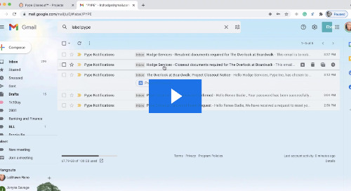 AU Lightning Talk: Collaborative Closeout Document Collection with Pype