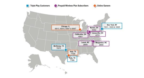 Communications Customer Segments: Where Do These Consumers Live?