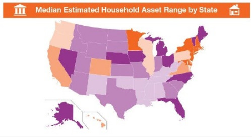 State-Level Median Household Assets