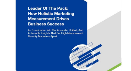 Forrester Report: How Holistic Marketing Measurement Drives Business Success
