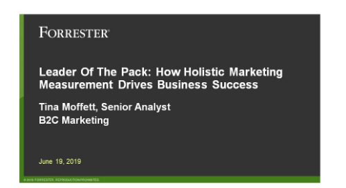 Podcast: Forrester Analyst - Holistic Marketing Measurement Drives Business Success