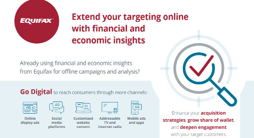 Extend your targeting online with financial and economic insights