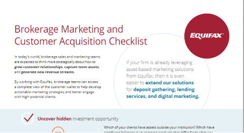 Brokerage Marketing and Customer Acquisition Checklist