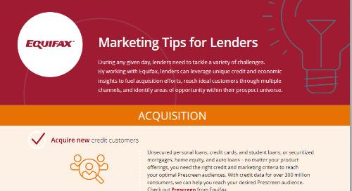 Marketing Tips for Lenders