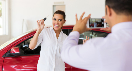 Sell a Car? Capture and Share the Moment to Media