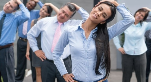 Five ways to be well at work