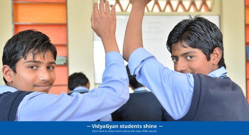 VidyaGyan Students aces class XII CBSE exams