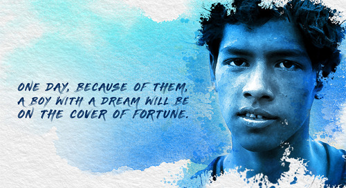 Super 30 proves that a villager can run a Fortune 500 company.