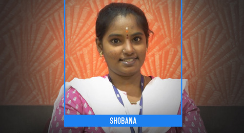 Exemplary commitment, hard work, and inborn intelligence become Shobana's treasure for success