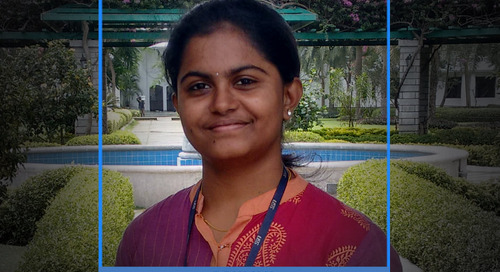 Soumya is grateful for having found her greatest inspiration, something that adds real meaning to her life