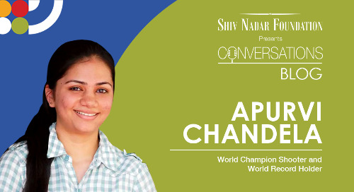Apurvi Chandela, Shooting World Champion and a World Record holder