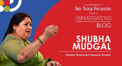 Shubha Mudgal - Veteran Hindustani Classical Vocalist