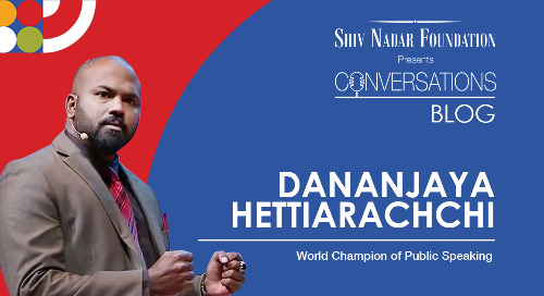 Dhananjaya Hettiarachchi - World Champion of Public Speaking
