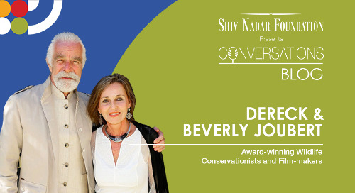 Dereck and Beverly Joubert Award - Winning Wildlife Conservationists and Film-makers