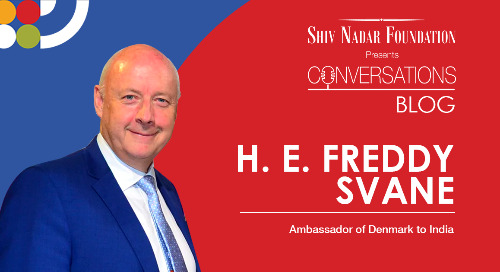 H.E. Freddy Svane - Ambassador of Denmark to India