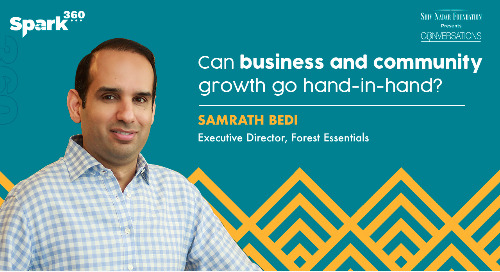 SNF Conversations - #Spark360 | Sustainability: Ep 28 - How Purpose Drives Business Growth