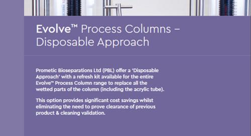 Evolve™ Bio-process Column Refresh Kits