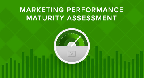 Marketing Performance Maturity Self-Assessment