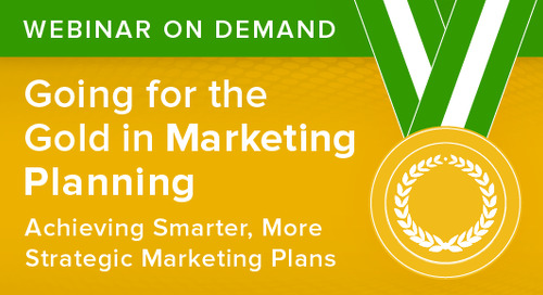 Going for the Gold in Marketing Planning