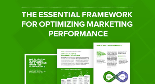 The Essential Framework for Optimizing Marketing Performance