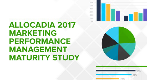 New Research from Allocadia Finds Only 21% of Companies Able to Fully Measure Marketing's Contribution to Revenue; High-Growth Firms 3X More