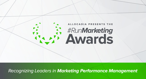 5 Signs You'll Win a 2017 #RunMarketing Award