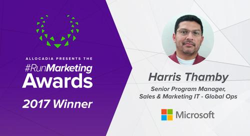 Harris Thamby, Microsoft