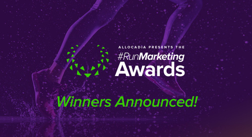Allocadia Announces Winners of 2017 RunMarketing Awards